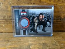 2018 WWE Then Now Forever Raw 25 Roman Reigns mat relic card /299