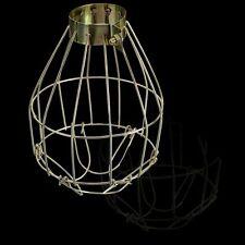 Bulb Adjustable Holder Clamp Trouble Light Guard Lamp Cage Lanterns Pendant