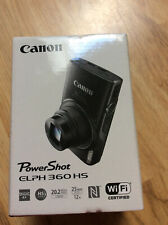 BRAND NEW Canon Power Shot ELPH 360HS WiFi Compact Digital camera Silver