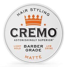 Cremo Hair Pomade Matte - 4 oz