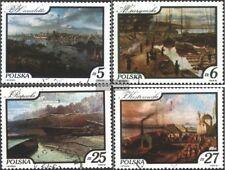 Polen 2921-2924 (kompl.Ausg.) gestempelt 1984 Weichsel-Gemälde