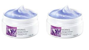Foot Works Overnight Treatment Cream with Lavender Pack of 2