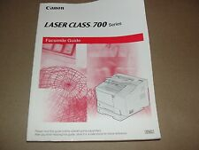 Canon Laser Class 700 Facsimile Guide (FAX Guide)  OEM Genuine book