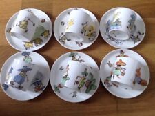 Aynsley 6 Coffee Cans&Saucers Depicting English&Chinese Children Playing 1910.