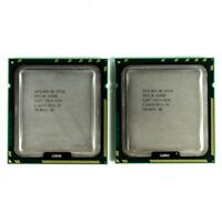 Lot of 2 Intel Xeon X5550 Quad-Core 2.66GHz 8M 6.4GT LGA1366 SLBF5 CPU Processor