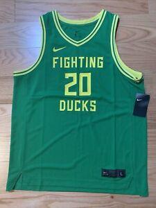 Nike NCAA Nike College Elite Basketball Jersey Oregon Ducks Men's L BNwT