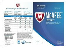 McAfee LiveSafe Ultimate Protection 1 Year Subscription for All Devices -License