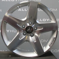 "GENUINE MERCEDES-BENZ GLA X156 AMG 18""INCH SILVER/POLISHED SINGLE ALLOY WHEEL X1"