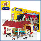 BREYER DELUXE ANIMAL VET HORSE HOSPITAL w ANIMALS ACCESSORIES 1:32 STABLEMATES