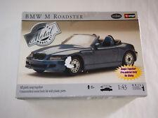 Testors Burago BMW M Roadster Metal Body Collectible Race Model Toy 1:24