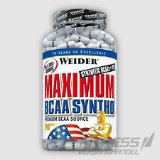 (15,54€/100g) Weider Maximum BCAA Syntho 240 Kapseln Aminosäuren