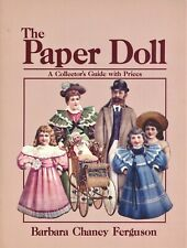 Antique Vintage Paper Dolls -  History Types Makers Dates Etc. / Book + Values