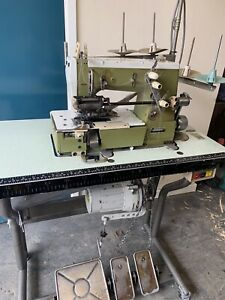 Rimoldi 263 Industrial Elasticator Automatic Sewing Machine Coverstich Waistband