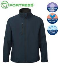 Mens Winter WORK PLAY Jacket SOFT-SHELL Waterproof Windproof Fleece Lined
