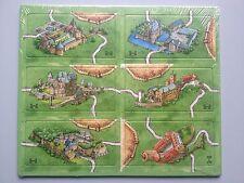 Expansión Carcassonne Mini-alemán castillos, a estrenar con las normas de inglés