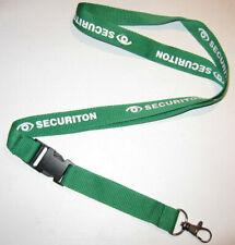Securiton Alarm- und Sicherheitssysteme Schlüsselband Lanyard NEU (T117)