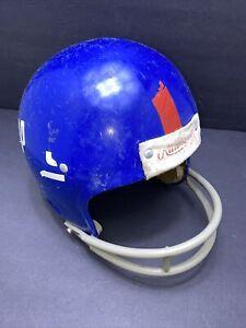 VINTAGE NEW YORK GIANTS RAWLINGS NFL FOOTBALL HELMET 80's?