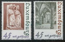 Luxembourg 1974 Gothic Architecture set SG 931-932 MNH mint *COMBINED SHIPPING*