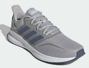 Adidas Runfalcon Mens men's shoes running trainers grey tech ink EE8328