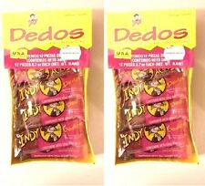 INDY DEDOS 24ct, 2 Packs of Spicy & Source Fingers Mexican Candy FREE SHIPPING!