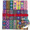 Vintage Floral Embroidered Jacquard Ribbon Trim Braid Border Trimmings 7 Yrs*5cm