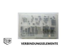 Zylinderstift Sortiment/Set DIN 7 100 Teile EDELSTAHL A1 Ø 5