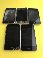Lot of 5 Apple iPod Touch 2nd Generation A1288 8GB (for parts) #rear
