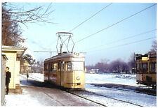 Foto im AK-Format, Berlin Spandau, Hakenfelde, Straßenbahn, 1967