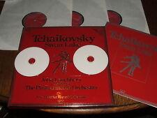Swan Lake by Tchaikovsky, Lanchbery, P.O. 3xLP Box Set + FREE transcribed CDs.