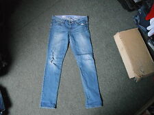 """Fossé toujours Skinny Jeans taille 29"""" taille 8 jambe 33"""" Faded Jeans femmes bleu moyen"""