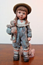 """Sarah's Attic Ruby Forever Friends Figurine Limited Edition 4"""" Vintage 1991"""