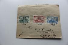 Brief,gel.1913 aus Galata nach Freiburg