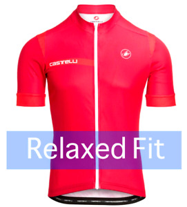 """Castelli Cento Men's """"Relaxed Fit"""" Cycling Jersey : BEST SELLER"""