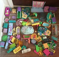 Vintage Kenner Littlest Pet Shop Playset Lot & Accessories
