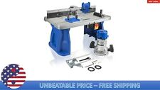 Kobalt K11RTA-03 Fixed Corded Router with Table Included 12-Amp Motor Micro-Fine
