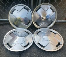 "RARE Set of 4 OEM 1982 82 Dodge Omni Plymouth Horizon 13"" Hubcaps Wheel Covers"