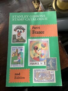 Stanley Gibbons Part 6- France Stamp Catalogue 2nd Edition 1982, Great Condition