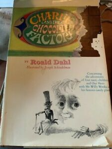 Charlie and The Chocolate Factory by Roald Dahl 1964 Hardcover Book