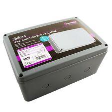 Knightsbridge Weatherproof Junction Box Outdoor Connection (XL) JB0010 IP66