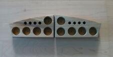 Sortierplatte für Globuli. Aus naturbelassenem Teakholz / Bottle Organizer Tray