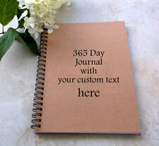 365 Page Writing Journal/Notebook personalized for you with lined pages