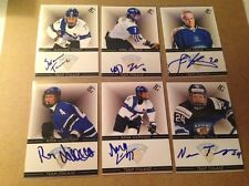 Noora Tulus SIGNED Custom Photo Card WOMEN'S HOCKEY / TEAM FINLAND