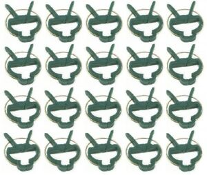 Re useable Garden Clips Plant Clips Cane Support Sprung Clips Reusable Freepost!