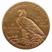 USA $ 5 Half Eagle Indian Head Gold 1909