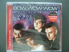 Bow Wow Wow - I Want Candy, Neu OVP, CD, 1990