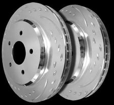 1994-2004 Ford Mustang Diamond Slotted Rotors