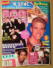 BOP Magazine ~Jan 2000 ~Backstreet Boys ~Britney Spears ~Erik Von Detten ~N'Sync