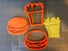 Burger and Fries Cookie Cutter (Set)