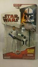 Rare Star wars the clone wars 2009 CW20 Clone Trooper Denal