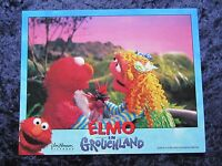 ELMO IN GROUCHLAND lobby card #2 ELMO, BIG BIRD